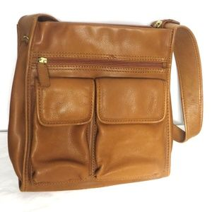 Fossil Bags - Fossil Genuine Leather 1954 Classic Shoulder Bag